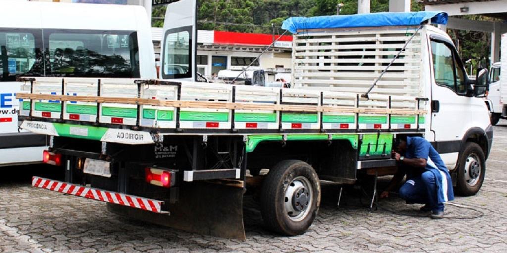 Detran disponibiliza modalidade especial para vistorias de veículos de empresas